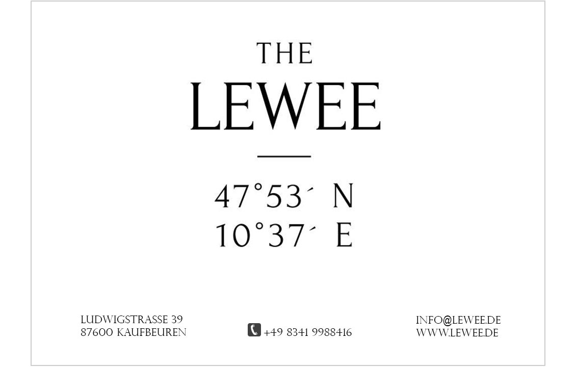 THE LEWEE