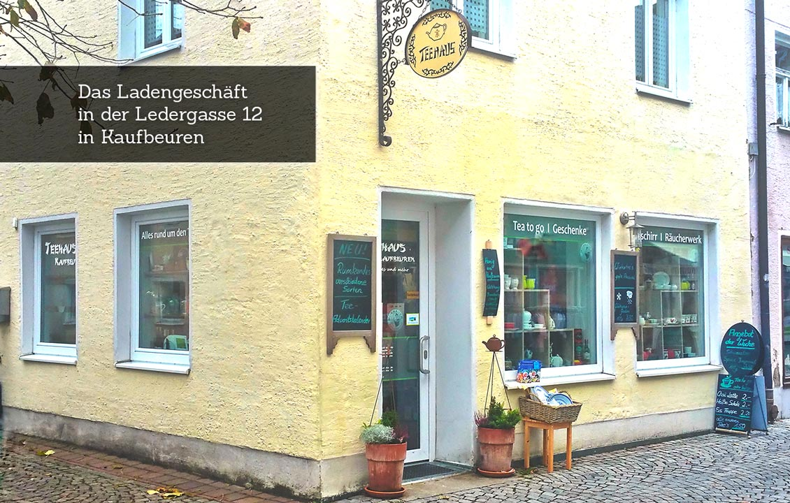 Teehaus Kaufbeuren | Sussen Eckhaus