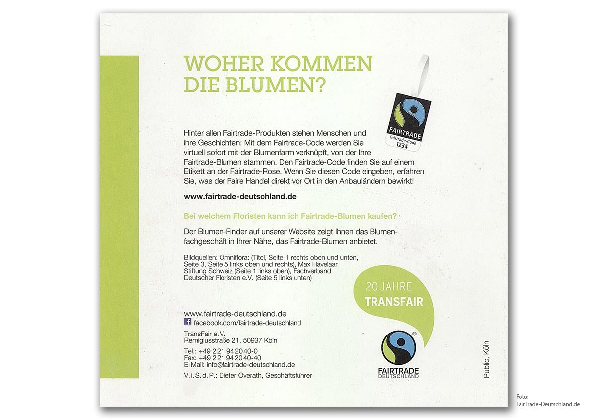 FairTrade Blumen